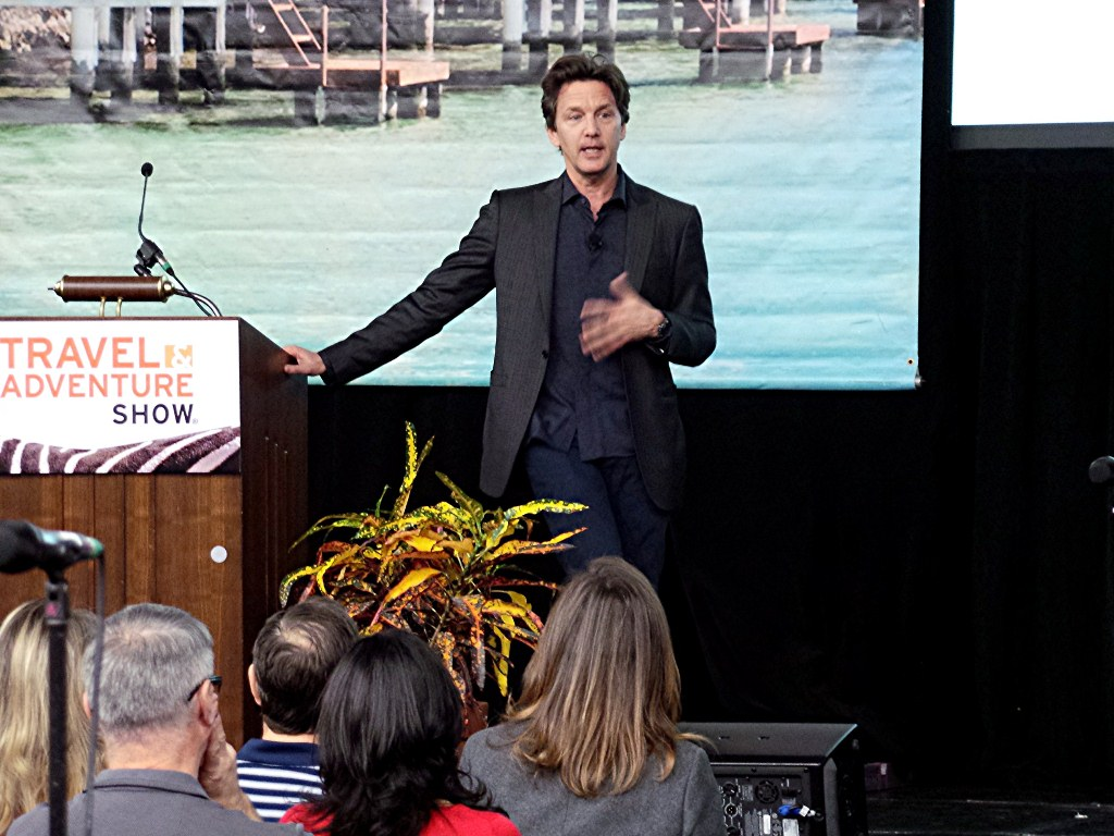 Andrew McCarthy at the Dallas Travel Adventure Show