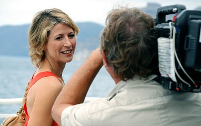 Travel Channels first and biggest star, Samantha Brown.