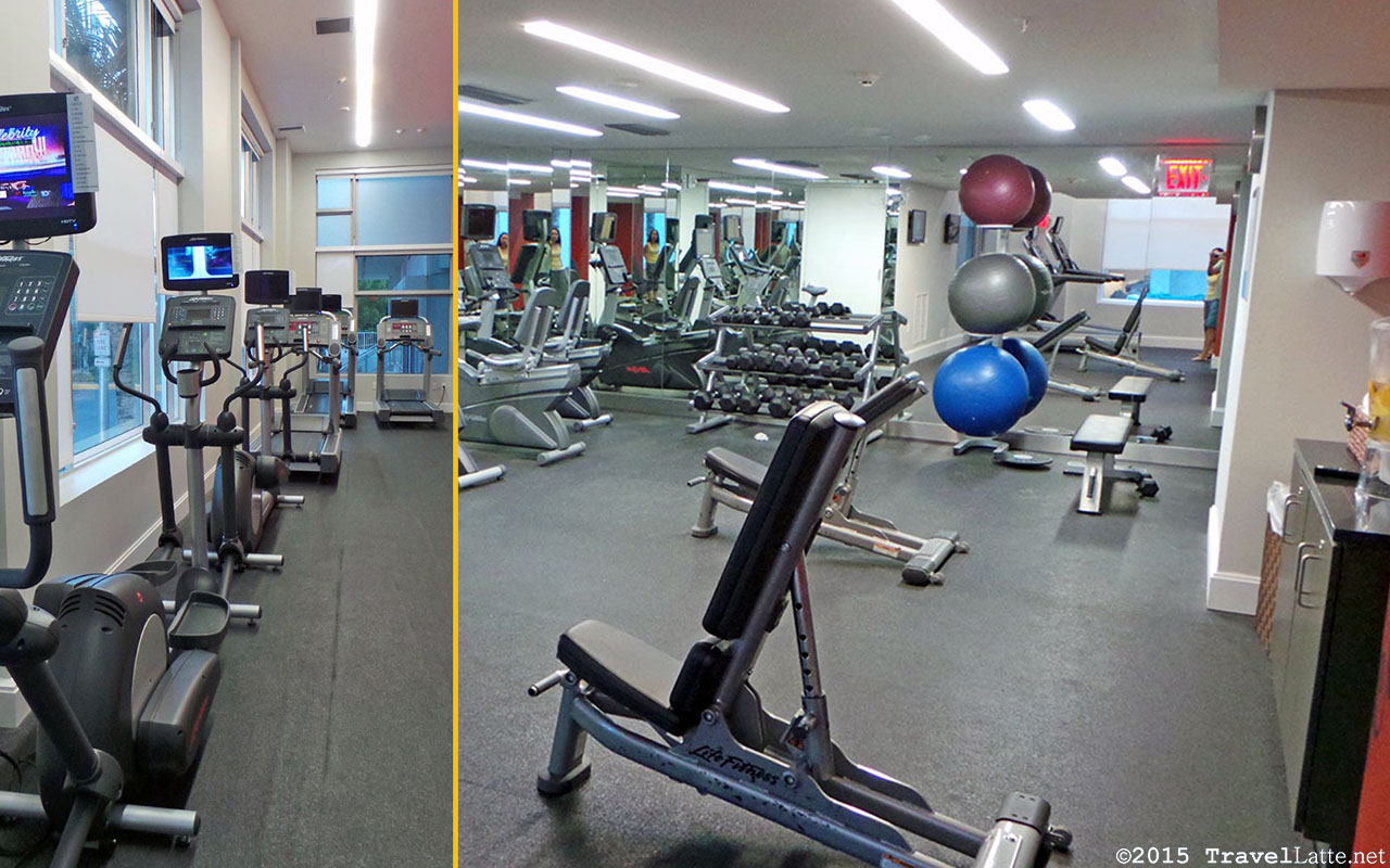 Photo: Courtyard Cadillac Hotel fitness center