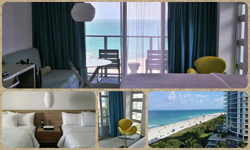 Photo Collage: Room Images from Courtyard Cadillac Hotel