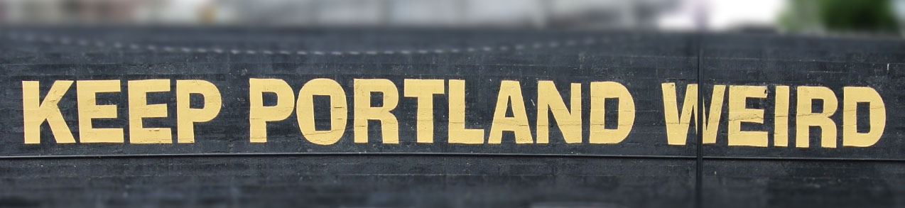 Photo: Keep Portland Weird