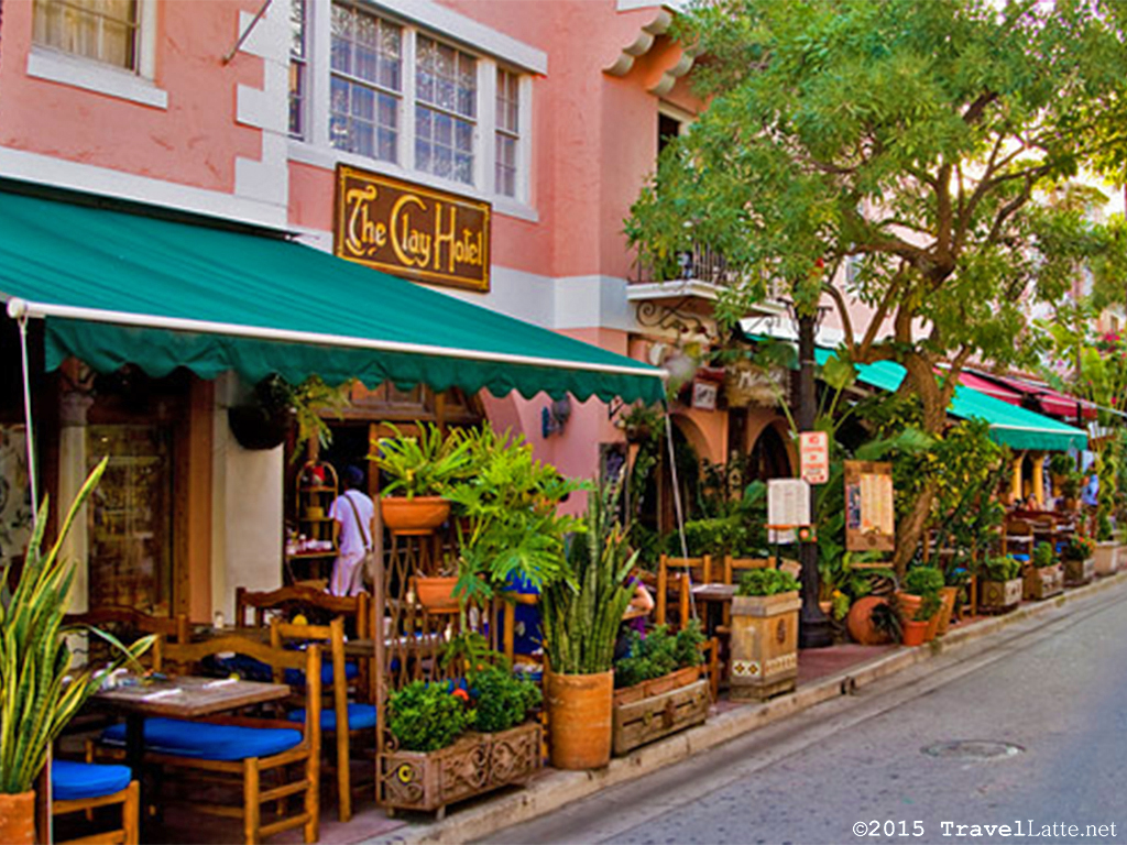 Exploring Iconic Miami Beach Destinations - The Clay Hotel on Espanola Way