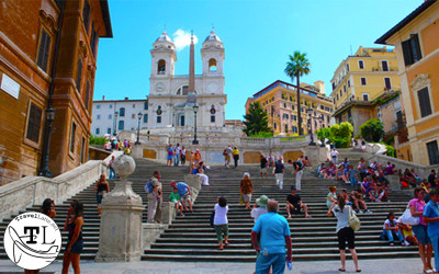 Roman Renovations at the Spanish Steps