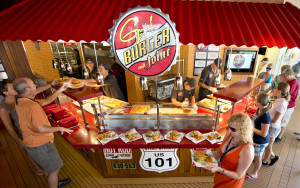 Guy's Burger Joint comes to Carnival Inspiration