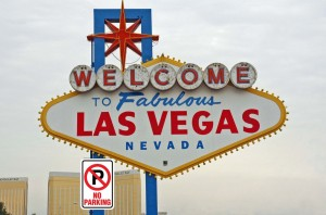 Welcome to Las Vegas - No Parking