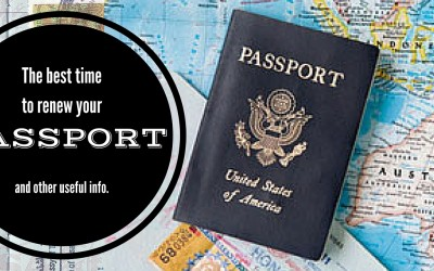 The Best Time to Renew Your Passport via @TravelLatte.net