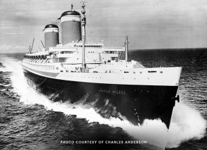 SS United States during Sea Trials