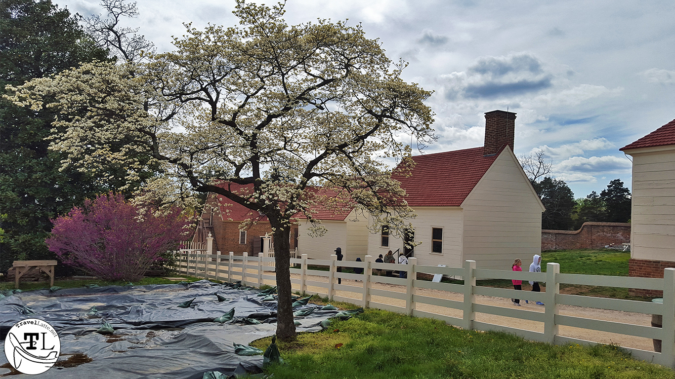 Out Buildings at Mount Vernon - Touring Mount Vernon via @TravelLatte.net