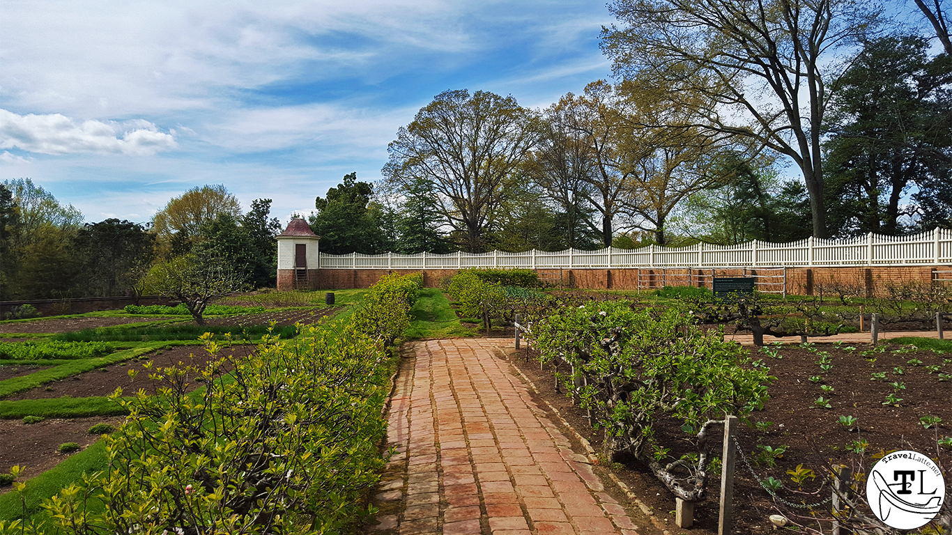 Lower Gardens - Touring Mount Vernon via @TravelLatte.net