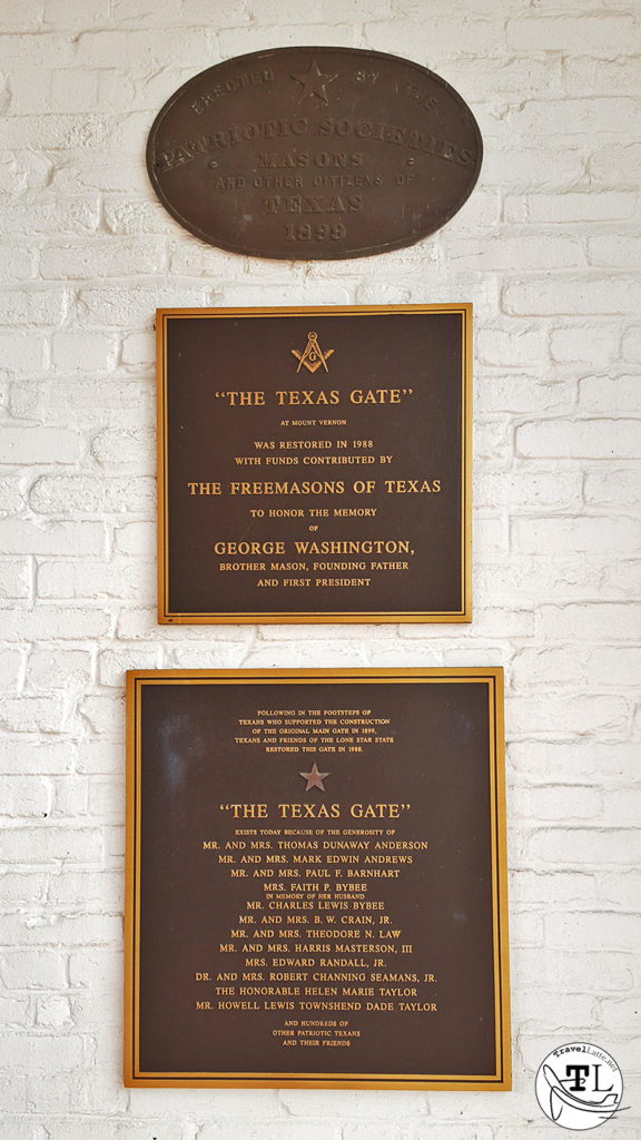 The Texas Gate - Touring Mount Vernon via @TravelLatte.net