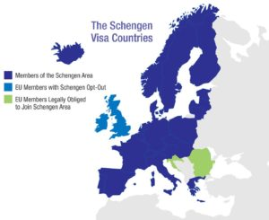 Shengen Countries in Brexit to Bropportunity via @TravelLatte.net