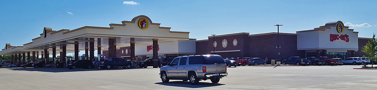 Buc-ee's at TMS on TravelLatte.net